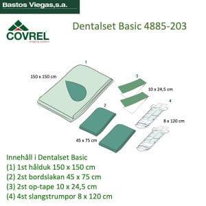 Dentalset Tandimplantatset Basic 4885-203