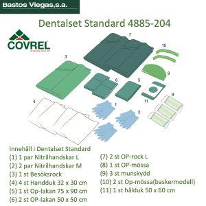 Dentalset Tandimplantatset Basic 4885-204