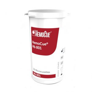HemoCue Hb 801 mikrokuvetter